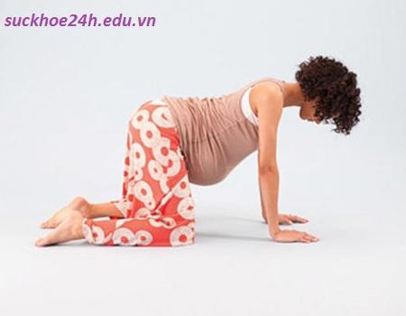 Tư thế tập luyện giúp bà bầu dễ sinh, tu the tap luyen giup ba bau de sinh