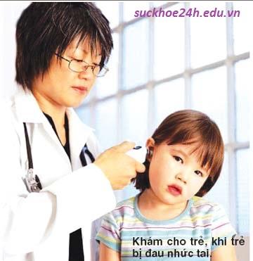Cách phòng tránh viêm tai giữa ở trẻ em, de phong benh viem tai giua