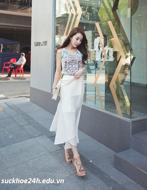 Kiểu váy maxi cho hè 2013