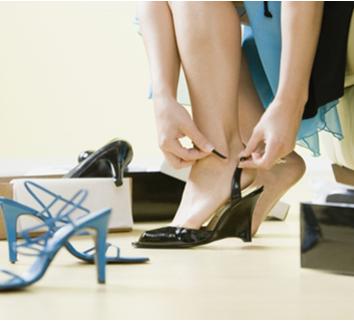 5 bệnh thường gặp do giày cao gót, 5 benh thuong gap do giay cao got