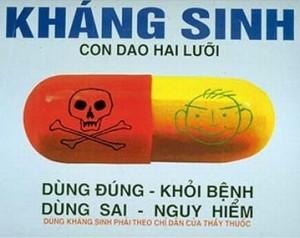 3 điều cần lưu ý khi sử dụng kháng sinh, 3 dieu can luu y khi su dung khang sinh