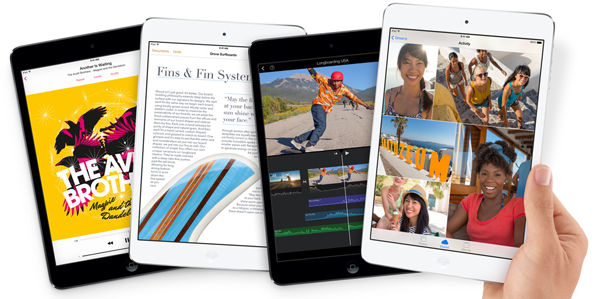 Apple iPad Mini 2 specs, overall and iPad Mini 2 coupon code