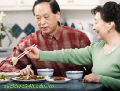 Chế độ dinh dưỡng tốt cho người cao huyết áp