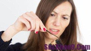 Cách trị bệnh rụng tóc sau khi sinh