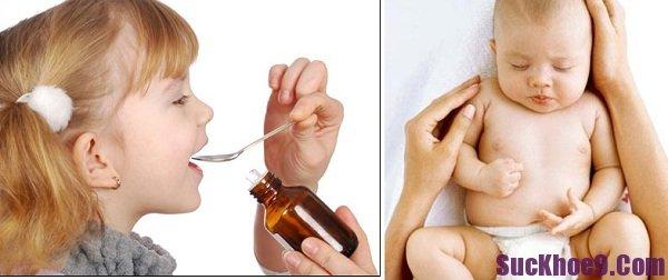 Lưu ý khi cho bé uống thuốc