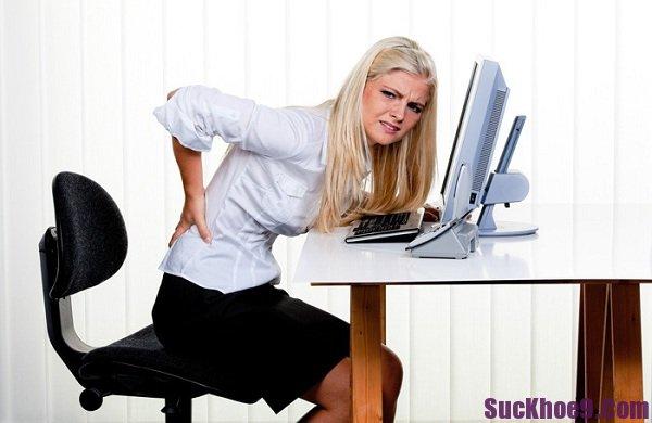 Thói quen xấu của dân văn phòng có hại cho sức khỏe
