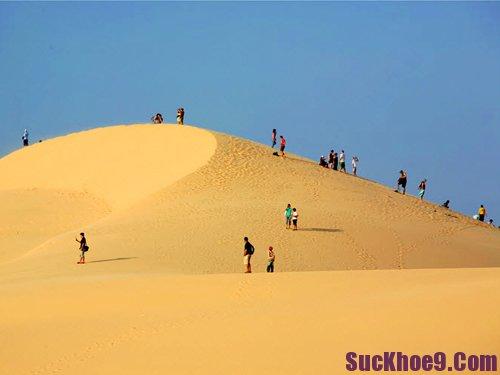 Du lịch khám phá đồi cát Mũi Né