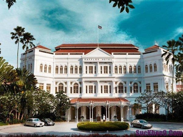 Khách sạn sang trọng, hiện đại và tiện nghi nhất Singapore