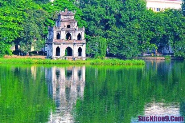 Những địa điểm tham quan ở Hà Nội. Hồ Gươm. Địa điểm du lịch nổi tiếng ở Hà Nội